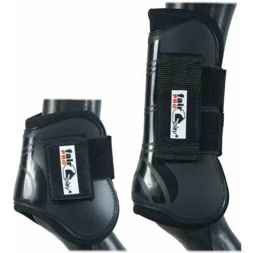 Fair Play Horse Boots PRO, black, set of 4