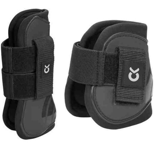 Kerbl Gaiter Set, black
