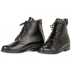 Jodhpur boots, leather lace-up PREMIUM