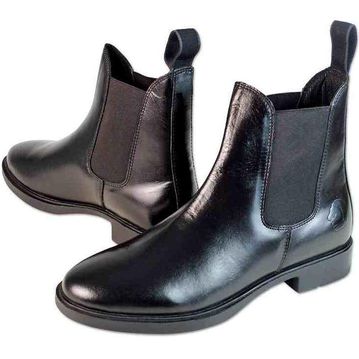 Fair Play Leather jodhpur boots TWIST, black