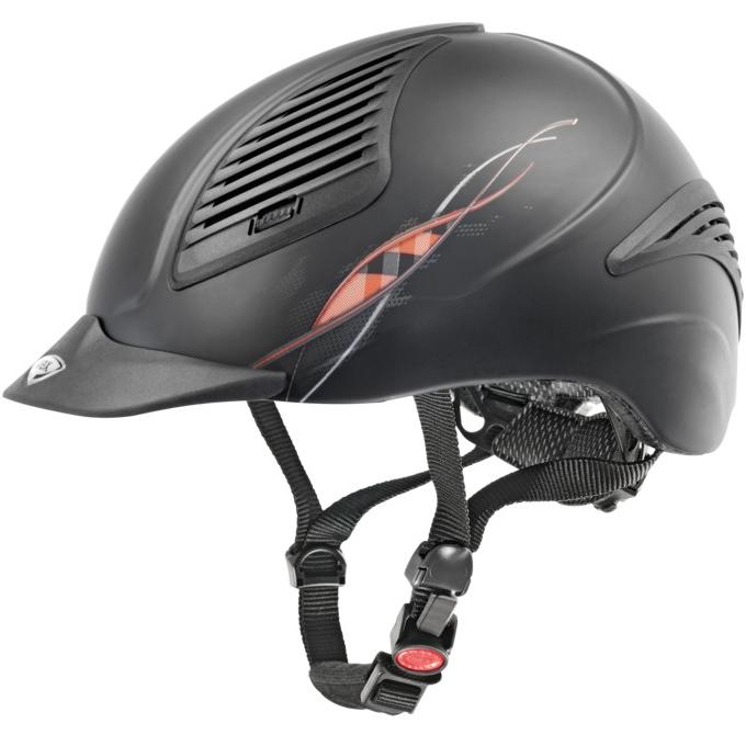 UVEX riding helmet exxential wave brown mat